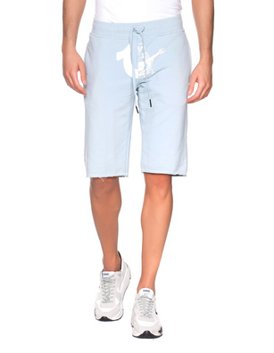 TRUE RELIGION Short Logo Light Blue