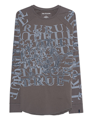 TRUE RELIGION Allover Print Olive