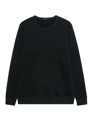 TRUE RELIGION 3D Buddha Black