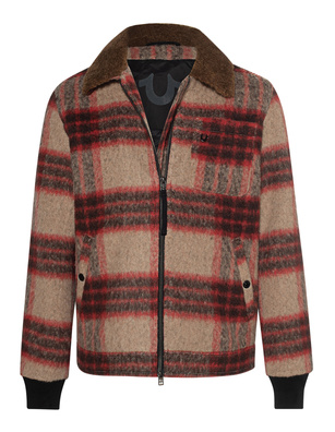 TRUE RELIGION Lumberjack Red