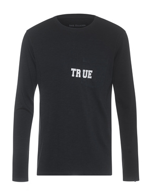 TRUE RELIGION Chest True Logo Black