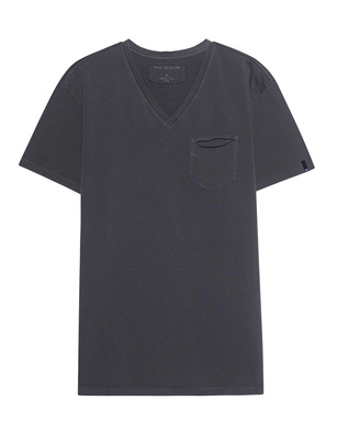 TRUE RELIGION V-Neck Castle Rock Grey