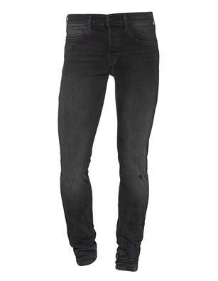 TRUE RELIGION Rocco Denim Superstretch Black