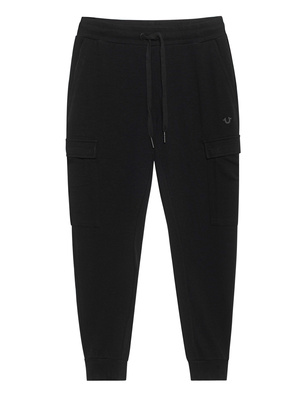 TRUE RELIGION Jogging Cargo Black