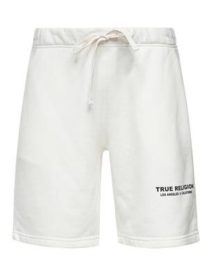 TRUE RELIGION Organic Cotton Short Off White