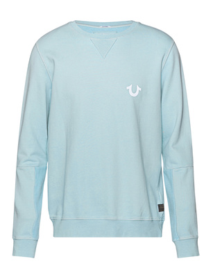 TRUE RELIGION Logo Light Blue