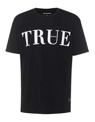 TRUE RELIGION Script Logo Black