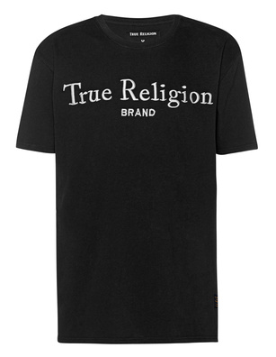 TRUE RELIGION Logo Embroidery Black