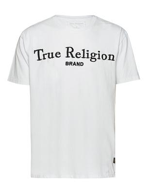TRUE RELIGION Logo Embroidery White