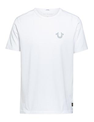 TRUE RELIGION Organic Cotton Logo White