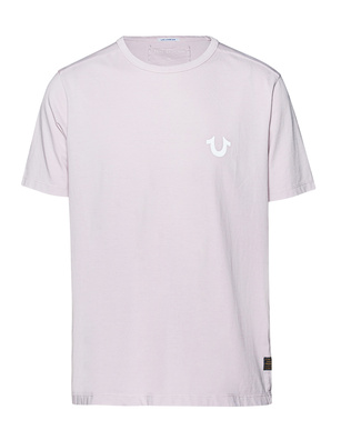 TRUE RELIGION Organic Cotton Logo Lilac