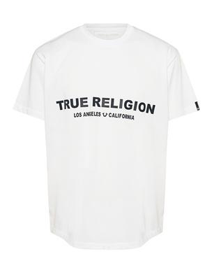 TRUE RELIGION Logo Front White
