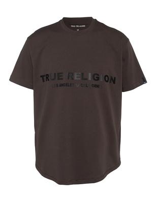 TRUE RELIGION Relax Logo Brown