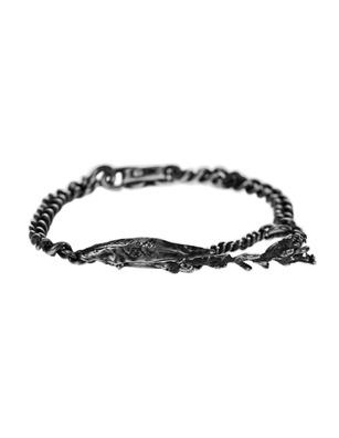 WERKSTATT MÜNCHEN Bracelet Fine Leaves Silver