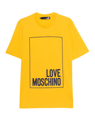 LOVE Moschino Logo Square Yellow