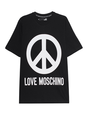 LOVE Moschino Logo Peace Black