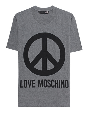 LOVE Moschino Peace Logo Grey