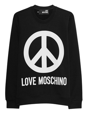 LOVE Moschino Peace Logo Black