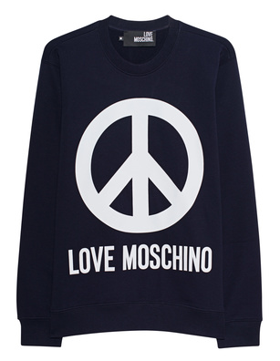 LOVE Moschino Peace Front Navy