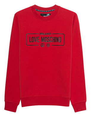 LOVE Moschino Logo Front Red