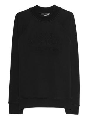 LOVE Moschino Tonal Stitching Black