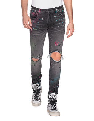 Amiri Graffiti Jean Anthracite