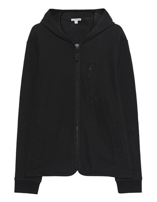 JAMES PERSE Hoodie Zip Black