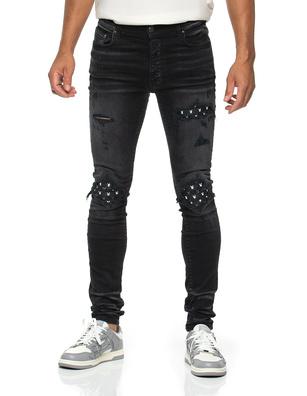 Amiri x Playboy MX1 Leather Black