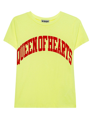 liv bergen LIv Shirt Queen of Hearts Neon Yellow
