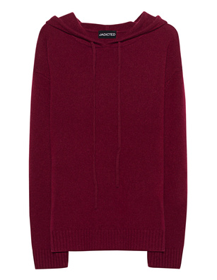 JADICTED Cashmere Hood Bordeaux