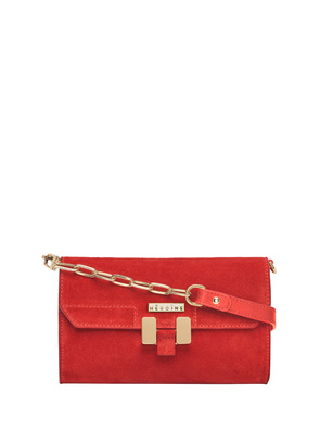 Maison Heroine Carrie Suede Red
