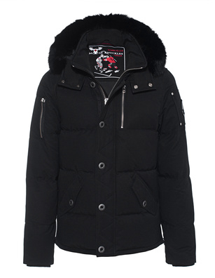 MOOSE KNUCKLES 3Q Fur Black