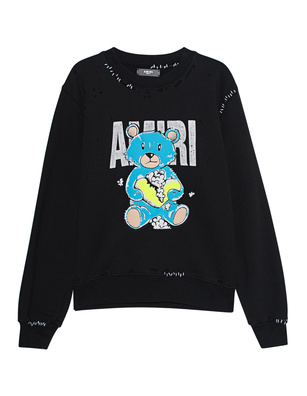 Amiri Teddy Repair Black