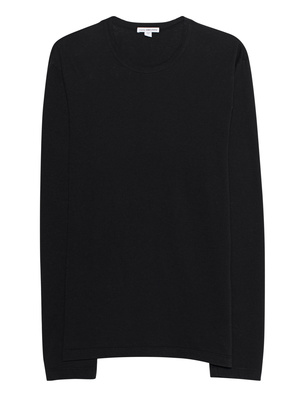 JAMES PERSE Basic Crew Neck Black