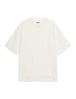 THOM KROM Kangaroo Terry Cloth White