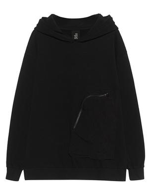 THOM KROM Pocket Hood Black