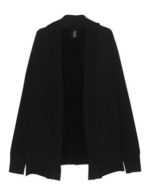 THOM KROM Kimono Clean Ribbed Black