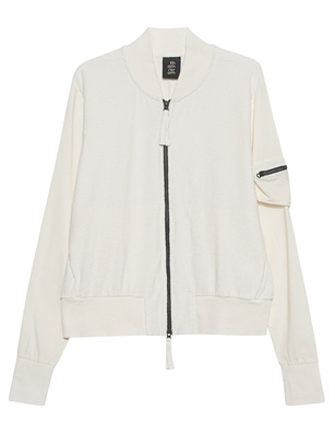 THOM KROM Frottee Pocket Off-white