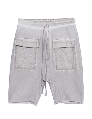 THOM KROM Pockets Short Off White Oil