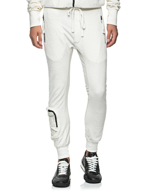 THOM KROM Pockets Frottee White