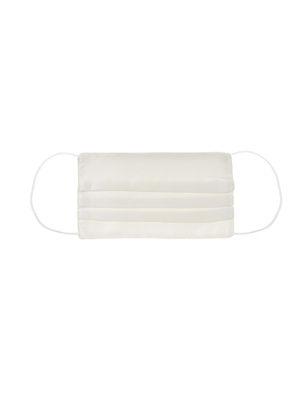 JADICTED Face Mask Silk Off White