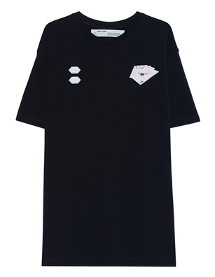OFF-WHITE C/O VIRGIL ABLOH Hand Card Shirt Black