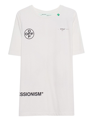 OFF-WHITE C/O VIRGIL ABLOH Stencil Over Tee Off-White