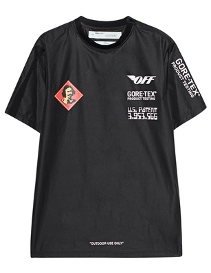 OFF-WHITE C/O VIRGIL ABLOH Shiny Label Black