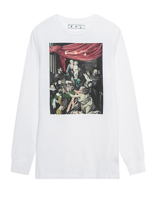 OFF-WHITE C/O VIRGIL ABLOH Caravaggio Painting White