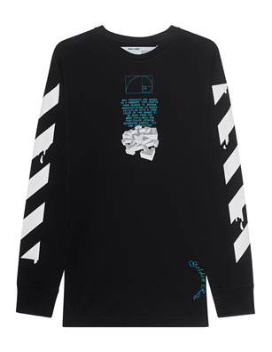 OFF-WHITE C/O VIRGIL ABLOH Dripping Arrows Long Black