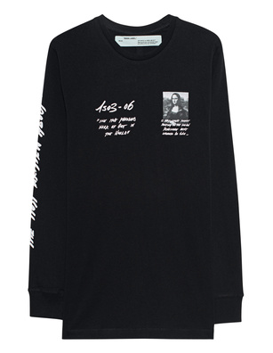 OFF-WHITE C/O VIRGIL ABLOH Mona Lisa Longsleeve Black