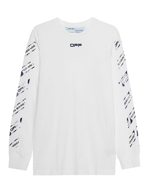 OFF-WHITE C/O VIRGIL ABLOH Airport Tape Longsleeve White