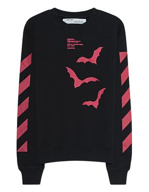 OFF-WHITE C/O VIRGIL ABLOH Sweater Diag Bats Black