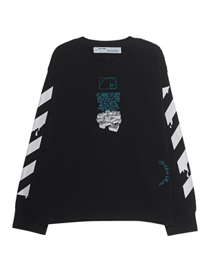 OFF-WHITE C/O VIRGIL ABLOH Dripping Arrows Oversize Black